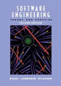 Software Engineering : Theory and Practice by Shari Lawrence Pfleeger - 2001