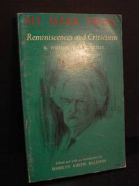 image of My Mark Twain  Reminiscences and Criticisms