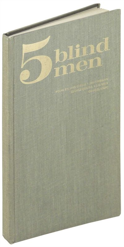 Fremont, Michigan: The Sumac Press, 1969. Hardcover. Near Fine. Hardcover. First edition. Number 45 ...