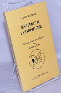 image of Mysterium Pansophicum; Theosophisch-pansophische Schriften. Herausgegeben und kommentiert von Gerhard Wehr