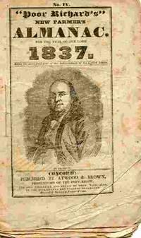 Poor Richard's New Farmer's Almanac...1837