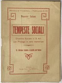 image of Tempeste sociali. Dramma sociale in 3 atti, con prol. in versi martelliani