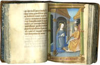 image of Book of Hours (use of Rome); in Latin and French, illuminated manuscript on parchment