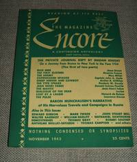 image of The Magazine Encore for November 1943