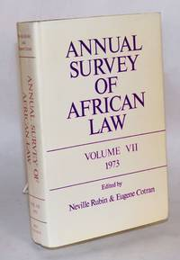 image of Annual survey of African law: volume VII - 1973