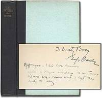New York: Macaulay, 1927. Hardcover. Fine. First edition. Fine, lacking the dustwrapper. Inscribed b...