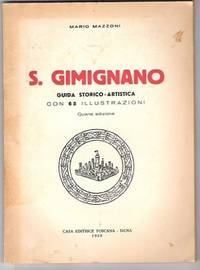 S GIMIGNANO by Mazzoni Mario - Paperback - 1950 - from Libreria MarcoPolo (SKU: 8281)