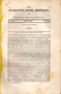 The Charleston Gospel Messenger, and Protestant Episcopal Register June, 1842