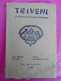 TRIVENI A Journal of the Indian Renaissance Vol. 1Nos. 4 & 5 July & Sept. 1928