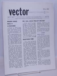 image of Vector: responsible action by responsible people in responsible ways; vol. 2, #3, February 1966: Southern California ACLU Policy on Sex