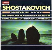 Symphony No.1 In F, Op.10; Symphony No.6 In B Minor, Op.54 [CD - Music Compact Disc]