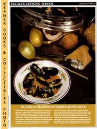 image of McCall's Cooking School Recipe Card: Fish, Seafood 20 - Moules Mariniere :  Replacement McCall's Recipage or Recipe Card For 3-Ring Binders : McCall's  Cooking School Cookbook Series