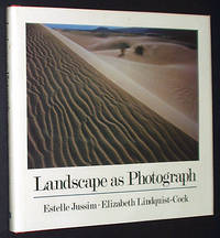 Landscape as Photograph by  Estelle; Elizabeth Lindquist-Cock Jussim - Hardcover - 1985 - from A&D Books and Biblio.com