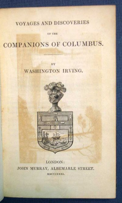 London: John Murray, 1831. 1st edition (BAL 10132). Black full embossed leather. Marbled edges & eps...