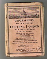 Geographers' Six Inch Map of Central London