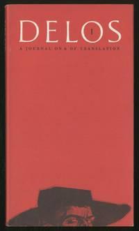 Delos 1: A Journal On & Of Translation