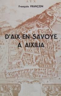 D'Aix en Savoye à Aixilia