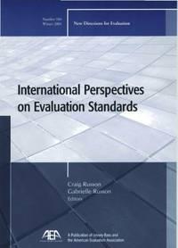 International Perspectives on Evaluation Standards