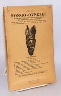image of Kongo-Overzee; tijdschrift voor en over Belgisch-Kongo en andere overzeese gewesten; XXIV (1958) 4-5