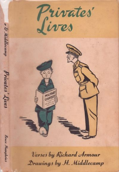 Boston: Bruce Humphries, Inc, 1944. First Edition. Hardcover. Good +/good. Octavo. 79 pages. Illustr...