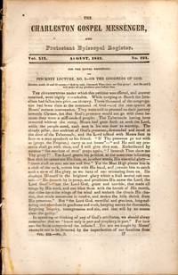 The Charleston Gospel Messenger, and Protestant Episcopal Register August, 1842