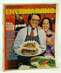 The New York Times Magazine - Entertaining at Home - Fall Food & Wine Issue, October (Oct.) 28 1979  - Cover Photo of Gustave Reininger and Margit Pearson