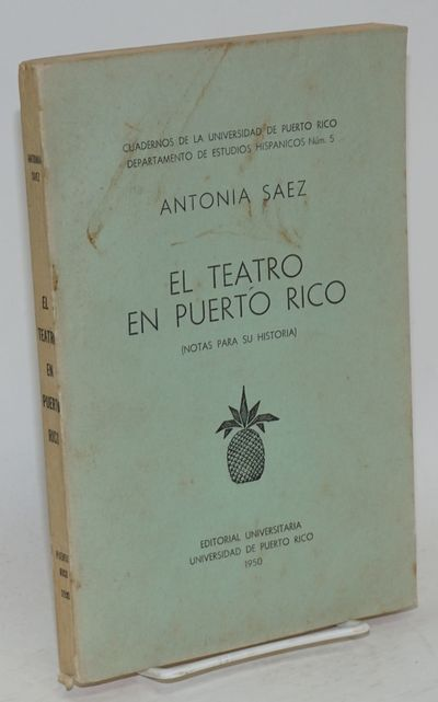 : Editorial Universitaria, 1950. Paperback. 185p., text in Spanish, good first edition paperback in ...