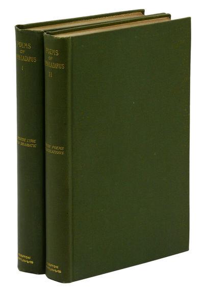 Boston: Houghton Mifflin Company, 1889. First Edition. Near Fine. First edition. vi, 342; 257 pp. Pu...