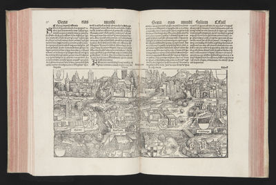 Abaa liber chronicarum by schedel hartmann search for rare books image description gumiabroncs Image collections