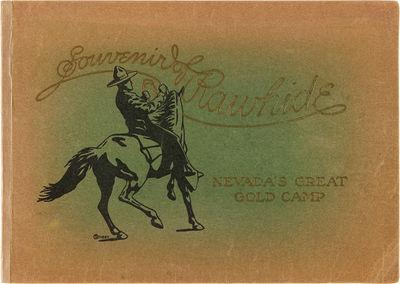 Rawhide, Nv.: N.E. Johnson, Publisher, 1908. pp. plus folding panoramic photograph. Oblong octavo. O...