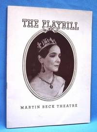 THE PLAYBILL MARTIN BECK THEATRE 1938 Helen Hayes in Victoria Regina