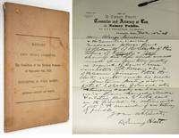 image of REPORT OF THE JOINT SELECT COMMITTEE TO INQUIRE INTO THE CONDITION OF THE  ELECTION RETURNS OF SEPT 8TH, 1879 AND THE EXPENDITURE OF PUBLIC MONEYS  Made to the 59th Legislature of Maine