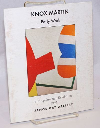 New York: Janos Gat Gallery, 1997. 21p., 7x8.5 inches, essay, curriculum vitae, illustrated with 7 c...