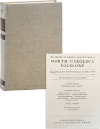 The Frank C. Brown Collection of North Carolina Folklore. Volume Four [4]: The Music of the Ballads by  Jan Philip SCHINHAN - Hardcover - 1974 - from Lorne Bair Rare Books and Biblio.com