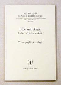 Fabel und Ainos. Studien zur griechischen Fabel.