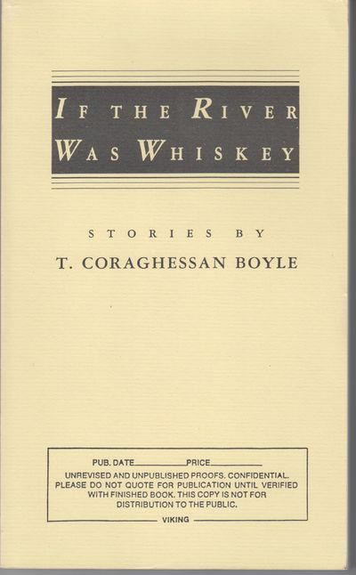 New York: Viking. 1989. First Edition; First Printing. Softcover. Yellow wraps, advance uncorrected ...