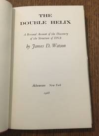 THE DOUBLE HELIX. A personal account of the discovery of DNA