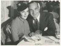 image of Original photograph of Al Jolson and Ruby Keeler, 1933