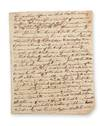 A manuscript summary of affirmative arguments in a debate on the merits of forming a temperance society, evidently in Haddam, Conn.