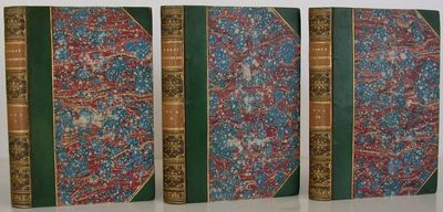 Chapman and Hall, 1861. 1st Edition. Hardcover. Very Good/No Jacket. First edition, volume one is fi...