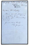 View Image 4 of 7 for Collection of Autograph Letters Signed by a popular novelist Inventory #4059
