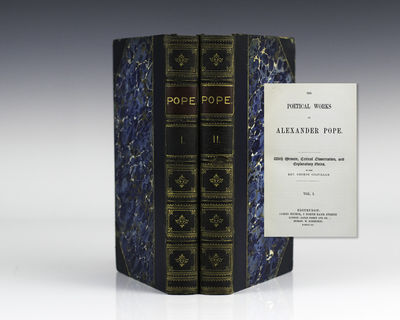 Edinburgh: James Nisbet and Co., 1866. First editions. Octavo, 2 volumes. Three quarters leather, gi...