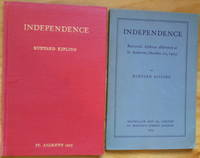 INDEPENDENCE [in wrappers and in cloth]