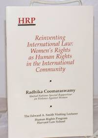 image of Reinventing International Law: Women's Rights as Human Rights in the International Community