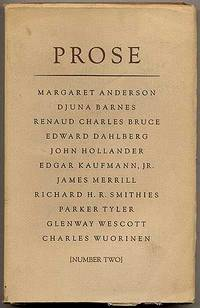 Prose: Number Two, Spring 1971
