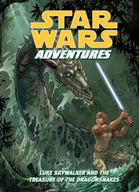 image of Star Wars Adventures : Luke Skywalker and the Treasure of the Dragonsnakes