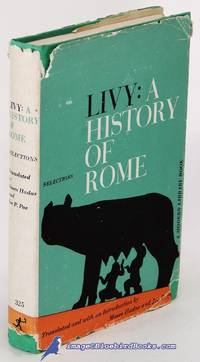 image of Livy: A History of Rome, Selections (Modern Library #325.1)