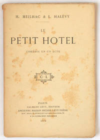 Le Petit hôtel, comédie en un acte