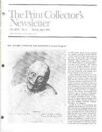 "image of ""Print Collector's Newsletter: Vol. XVI, No.1, March-April 1985"""
