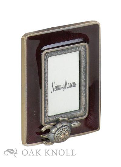 N.P.: n.p., n.d.. frame. Miniature Books. miniature picture frame (5.3 x 4.4 cm). frame. Miniature p...